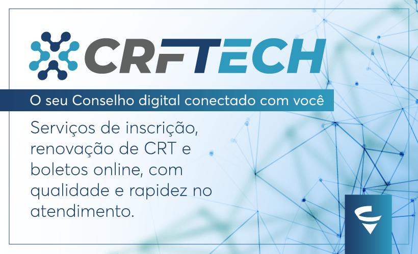 CRF Tech é a nova plataforma digital do CRF/MG para tornar o seu atendimento mais rápido